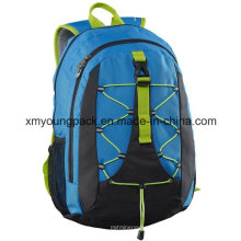 Saco azul da mochila da escola do azul 30 da forma