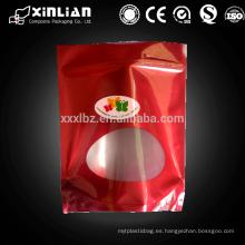 Bolsa de plástico importada de China bolsa de envasado de alimentos secos