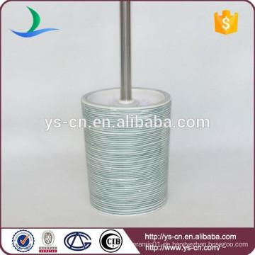 YSb50033-01-tbh Geprägter Porzellan-WC-Bürstenhalter