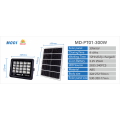 solar powered motion sensor security floodlight