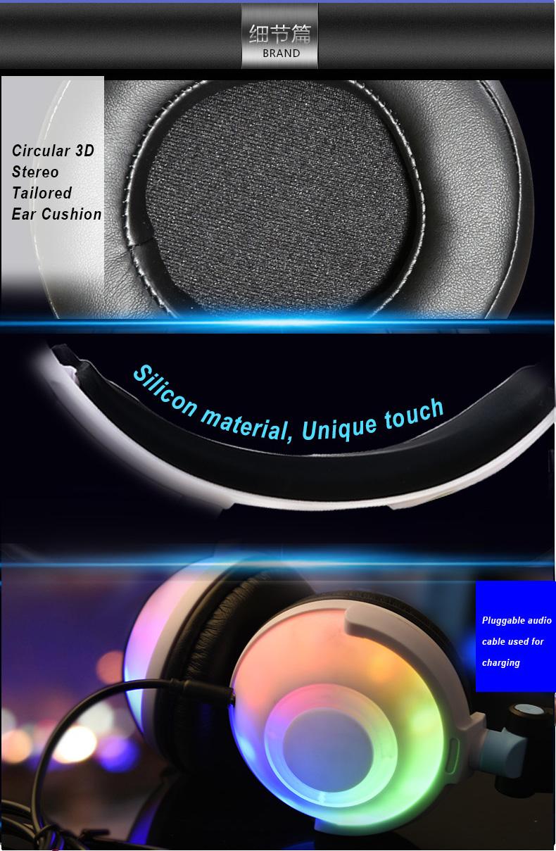 colorful bear headphones