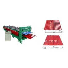 2012 novo tipo de rolo de aço cor automática formando máquinas