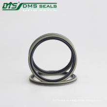 sello de pistón en estrella PTFE bronce para cilindro hidráulico sellado DAQ