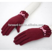 womens new fashion Korea warm cashmere gloves in winter wholesale