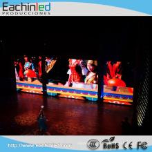 In Shenzhen China Der preiswerteste Preis P3.91 LED-farbenreiche Innenbildschirm-Videowand mit freiem kundengebundenem Mikro-Totem-Logo