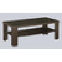 Oficina mesa de té de madera con glss top mesa de té chino mesa de café