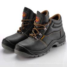 Кожаная рабочая обувь, удобная защитная обувь, стальные туфли