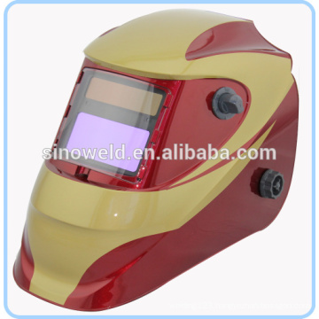 Competitive auto darkening welding helmet