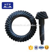 Pièces de transmission de haute performance engrenage conique en spirale en métal pour KIA besta avec ratio 9 * 40