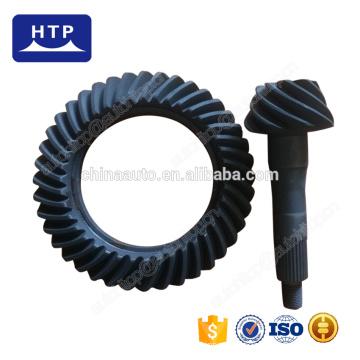 Piezas de transmisión de alto rendimiento engranaje cónico en espiral de metal para KIA besta con relación 9 * 40
