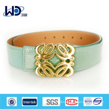 2014 Baby blue girls skinny leather belts