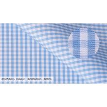 100% Baumwolle-Check-Stoff für Shirt-China-Lieferant