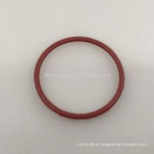 Duplo O-ring PTFE Teflon revestido de silicone ou núcleo interno de borracha fluorada Duplo O-ring