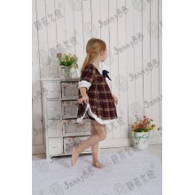 Jannybb Vintage Wholesale Check Clothing Set
