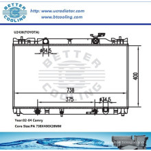 Toyota Camry Auto Motor Heizkörper 02-04 OEM: 164000H130 / 164000H131