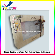 Elegant Paper Made Cosmetic Gift Set with PVC Window