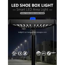Lâmpada LED industrial global para área 100W 5000K