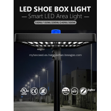 Luz de área LED industrial global 100W 5000K