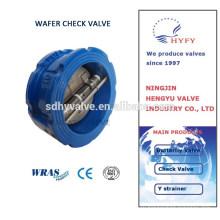 Сертификат CE WRAS DNV вафельные проверить клапан PN10 PN16 PN25