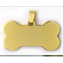 New Design Bone Shape Pet Tag Fashion Dog Tag Pendant Chinese Supply nfc Dog Tag