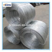 Fil de carbone / Bwg22 electro galvanisé fil de fer prix / construction reliure fil