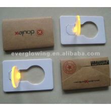 led pocket card for promotion