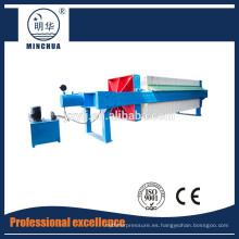 1250 Prensa de filtro de cámara automática, equipo de prensa de filtro