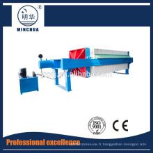 1250 Presse-filtre à chambre automatique, équipement de presse-filtre