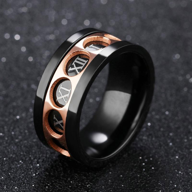 Mens Spinner Rings