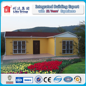 Three Bedrooms Light Gauge Steel Structural Villa Home