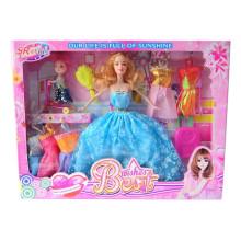 11 polegadas de plástico adorável meninas baby doll brinquedo