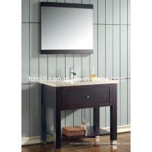 Tocador de baño de madera maciza (BA-1110)