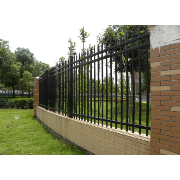 Easy to install PVC Iron fence