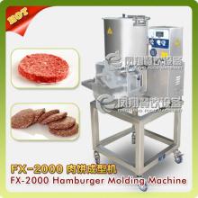 Hamburguesa de hamburguesa automática que forma la máquina de procesamiento de fabricación Fx-2000