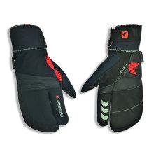 Armee-Grün-PU-Sport-Handschuh-Gebirgsradfahren-Handschuh-Anti-Beleg-Handschuh