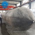 Navire de levage de 2x20m et airbags en caoutchouc flottants de rouleau