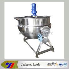 Steam Heating Jacketed Pan Cooking Pot