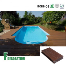 Co-Extrusion Waterproof WPC Decking for Swimming Pool