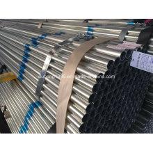 Tubo de aço galvanizado / tubo de aço galvanizado / galvanizado canalização / Zn revestido-78