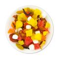 Roselle Hawthorn Inverno Melão Kiwi Papaia Hami Melão Abacaxi Misturado Chá De Frutas Secas