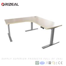 Mesa ergonómica de altura ajustable del escritorio de los altos de la altura ajustable del escritorio del soporte ergonómico certificado de la alta calidad en venta