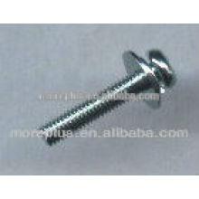 TAIWAN tornillo de la arandela cautiva tornillo de la cabeza de la cacerola con el collar sems tornillo con la arandela cuadrada
