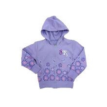 Beliebte Mädchen Mantel, Französisch Terry Baby Kleidung (SGC020)