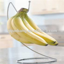 Iron Wire Made Simple Structure Banana Hanging Holder