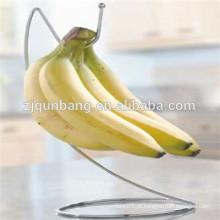 Fio de ferro feito estrutura simples Banana Hanging Holder