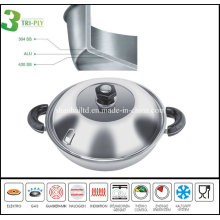 3ply Chinese Induction Wok