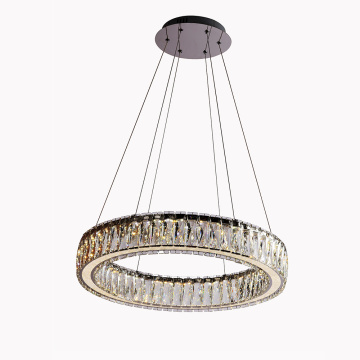 Factory outlet K9 crystal led modern takkrona