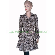 lady\'s  fashion long wind coat