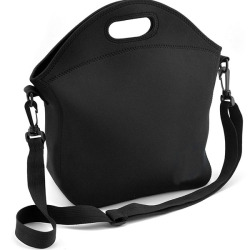 Black Durable Adjustable Long Strap Cooler Picnic Bags