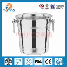 2015 nova chegada balde de aço inoxidável / balde de gelo de aço inoxidável / balde de gelo de metal